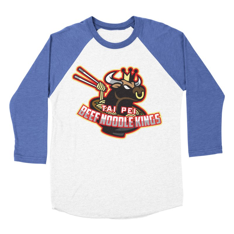 TAI PEI NOODLE KINGS Women's Baseball Triblend T-Shirt by foodfight's Artist Shop