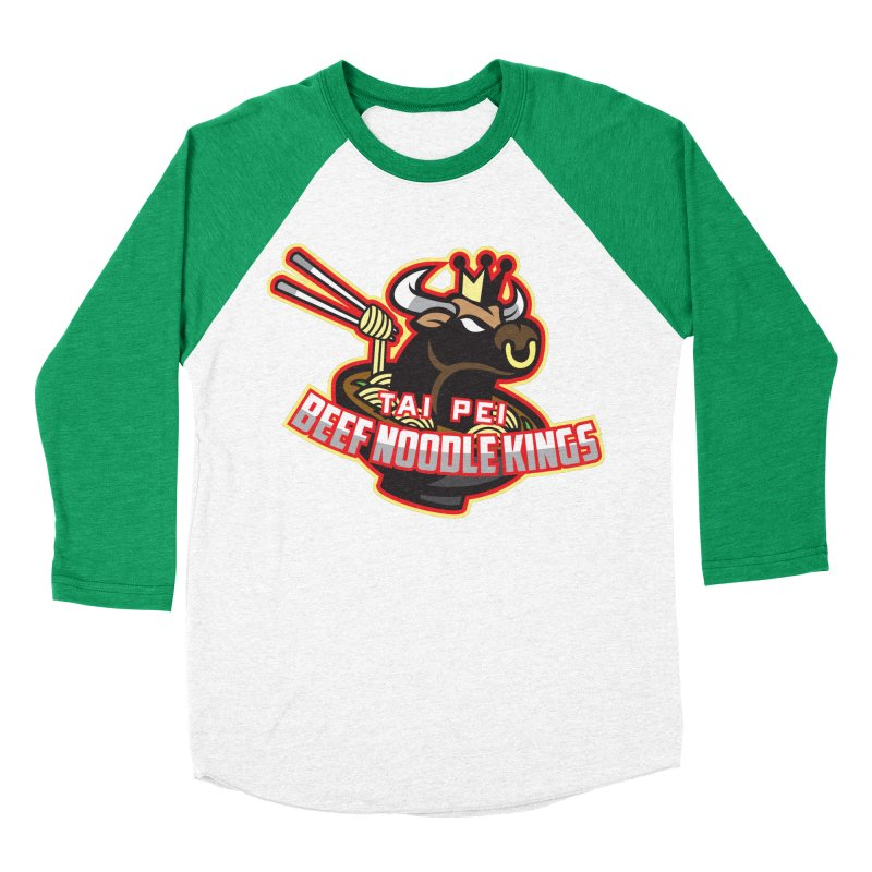 TAI PEI NOODLE KINGS Women's Baseball Triblend T-Shirt by foodfight's Artist Shop