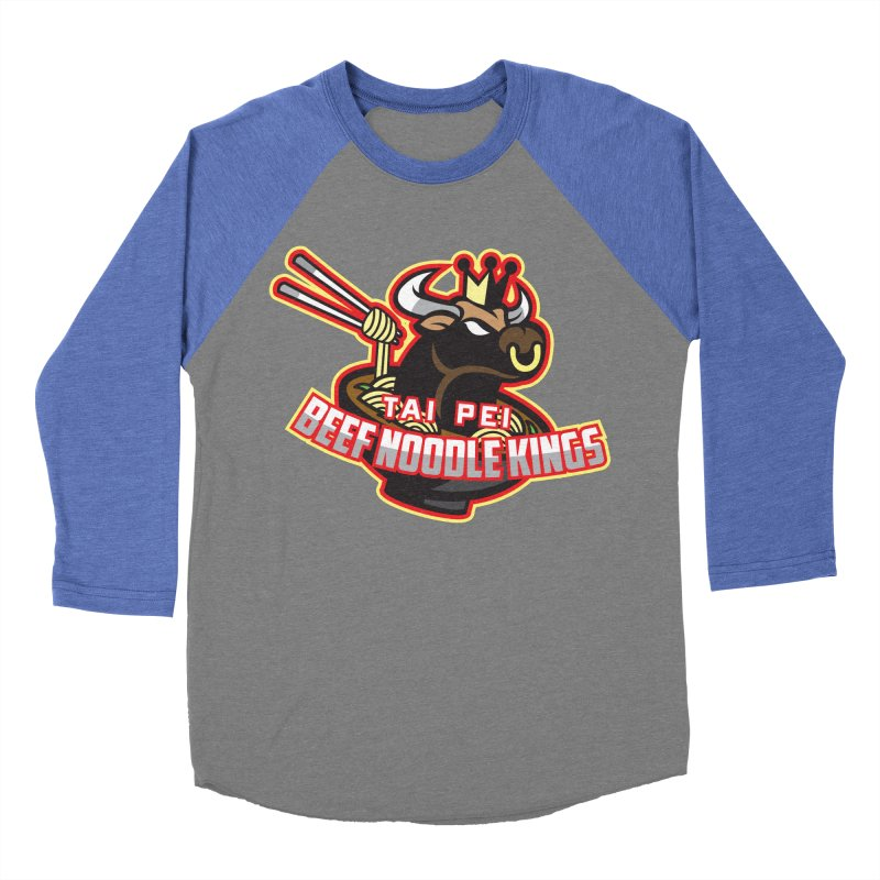 TAI PEI NOODLE KINGS Men's Baseball Triblend T-Shirt by foodfight's Artist Shop