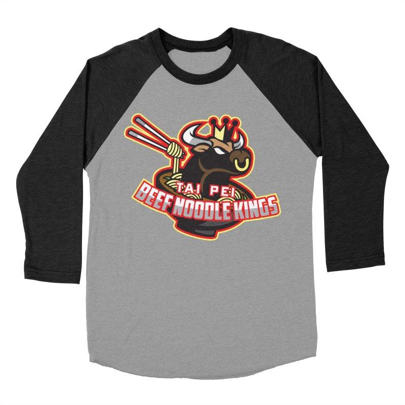 TAI PEI NOODLE KINGS Men's Baseball Triblend T-Shirt by foodfight's Artist Shop