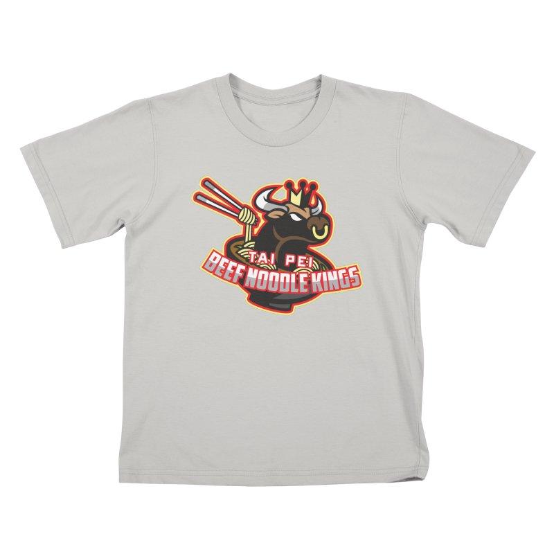 TAI PEI NOODLE KINGS Kids T-shirt by foodfight's Artist Shop