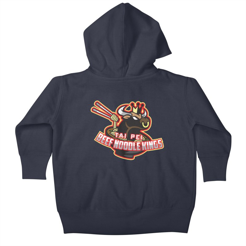 TAI PEI NOODLE KINGS Kids Baby Zip-Up Hoody by foodfight's Artist Shop