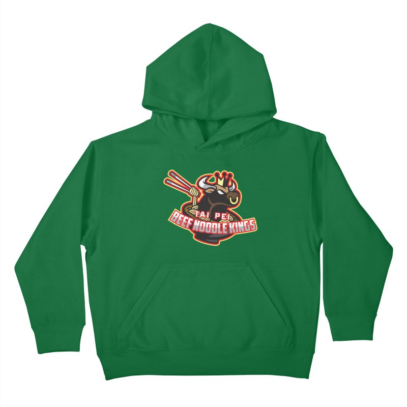 TAI PEI NOODLE KINGS Kids Pullover Hoody by foodfight's Artist Shop
