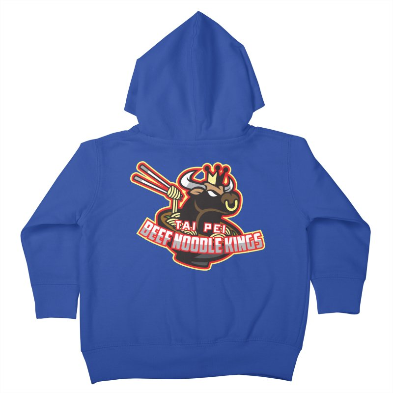 TAI PEI NOODLE KINGS Kids Toddler Zip-Up Hoody by foodfight's Artist Shop