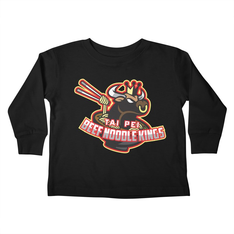 TAI PEI NOODLE KINGS Kids Toddler Longsleeve T-Shirt by foodfight's Artist Shop