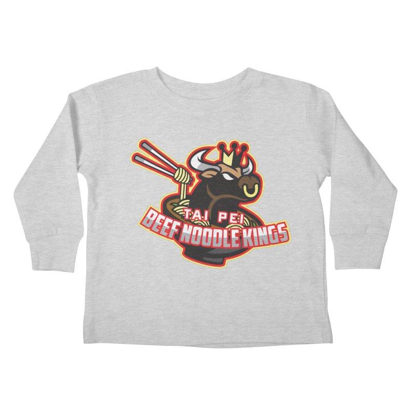 TAI PEI NOODLE KINGS Kids Toddler Longsleeve T-Shirt by foodfight's Artist Shop
