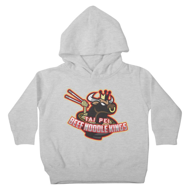 TAI PEI NOODLE KINGS Kids Toddler Pullover Hoody by foodfight's Artist Shop