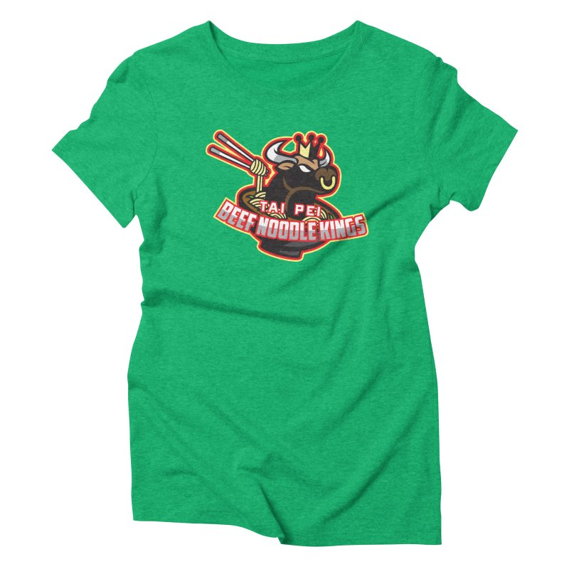 TAI PEI NOODLE KINGS Women's Triblend T-shirt by foodfight's Artist Shop