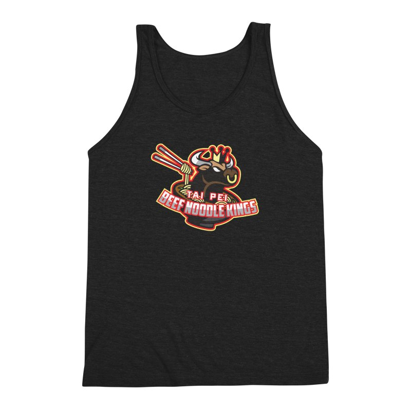 TAI PEI NOODLE KINGS Men's Triblend Tank by foodfight's Artist Shop