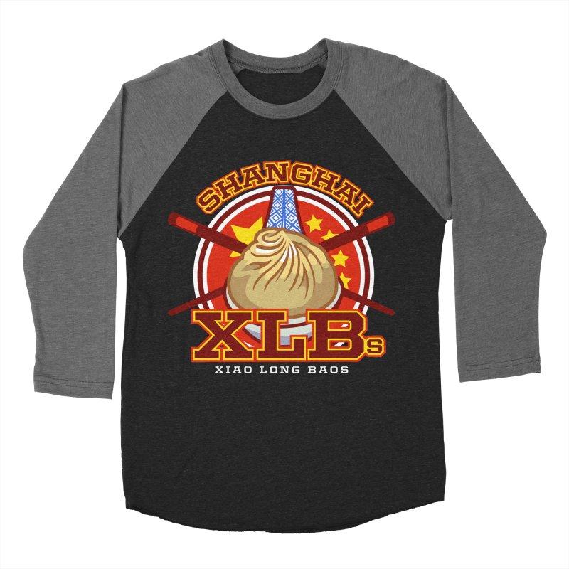 SHANGHAI XLBs (Xiao Long Baos) Women's Baseball Triblend T-Shirt by foodfight's Artist Shop