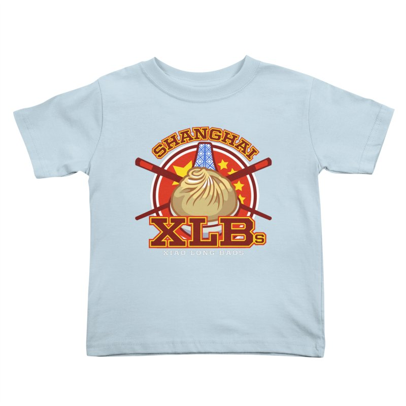 SHANGHAI XLBs (Xiao Long Baos) Kids Toddler T-Shirt by foodfight's Artist Shop