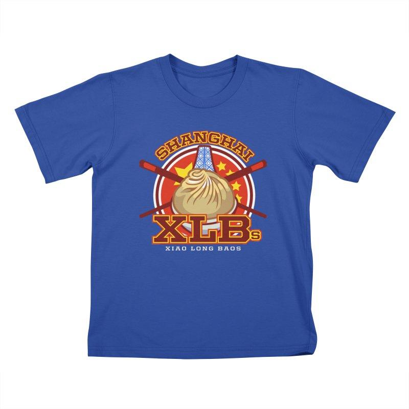 SHANGHAI XLBs (Xiao Long Baos) Kids T-shirt by foodfight's Artist Shop