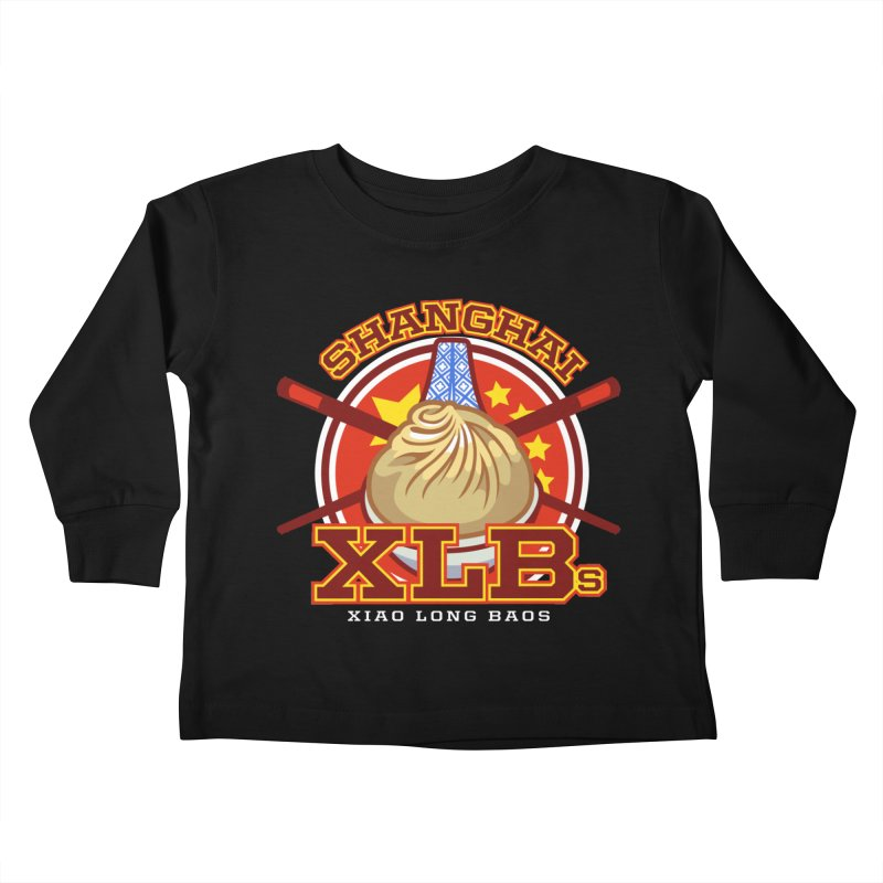 SHANGHAI XLBs (Xiao Long Baos) Kids Toddler Longsleeve T-Shirt by foodfight's Artist Shop
