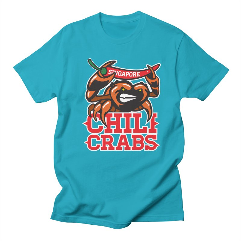 SINGAPORE CHILI CRABS Men's T-Shirt by foodfight's Artist Shop