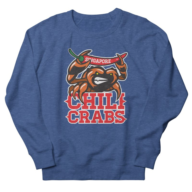 SINGAPORE CHILI CRABS Men's Sweatshirt by foodfight's Artist Shop