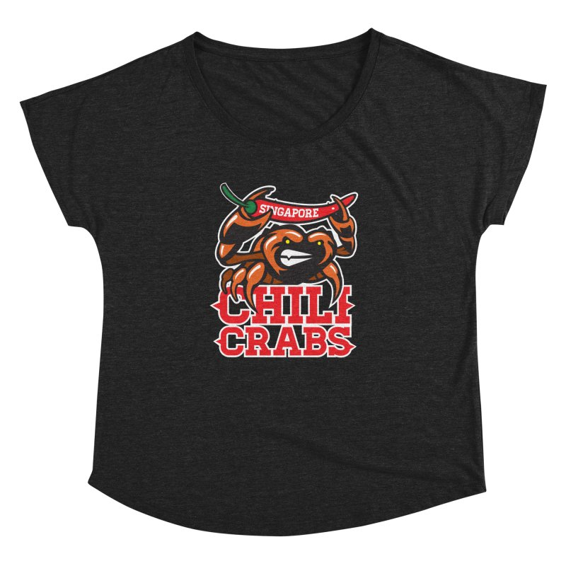 SINGAPORE CHILI CRABS Women's Dolman by foodfight's Artist Shop