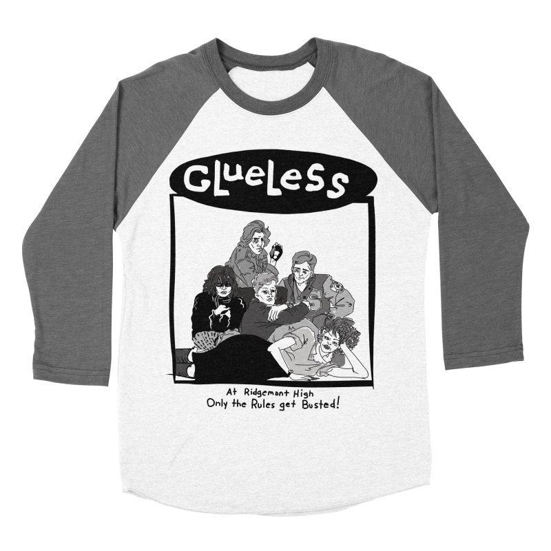 Clueless: Sit on it, Sweathog! Men's Baseball Triblend Longsleeve T-Shirt by foodstampdavis's Artist Shop