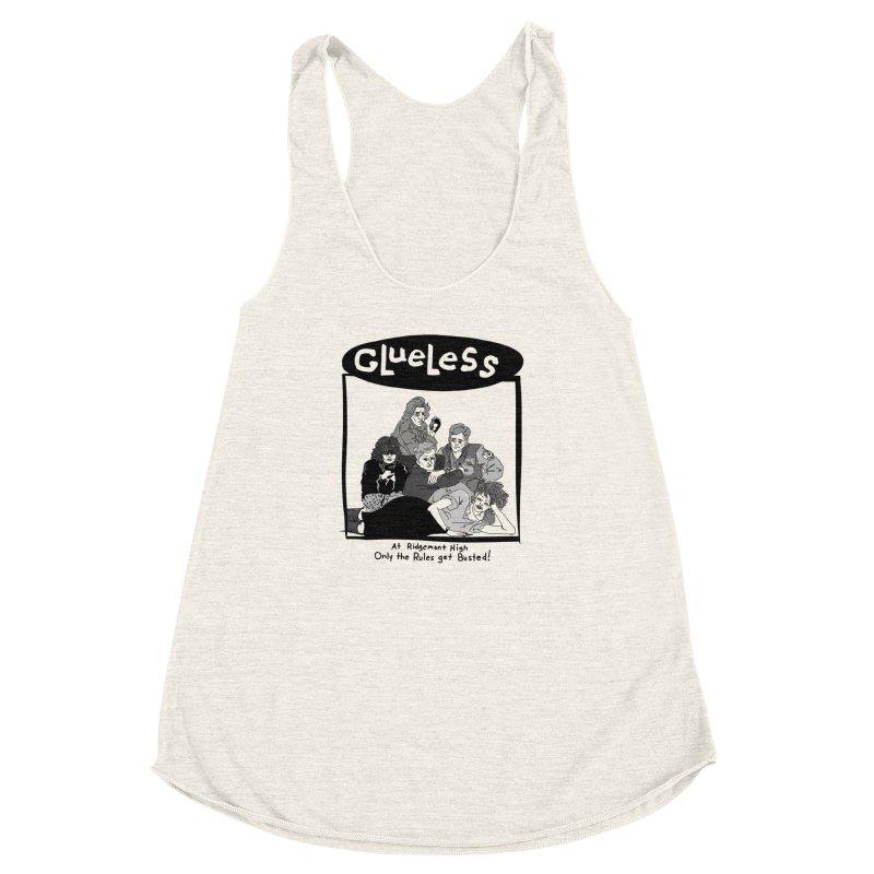 Clueless: Sit on it, Sweathog! Women's Racerback Triblend Tank by foodstampdavis's Artist Shop