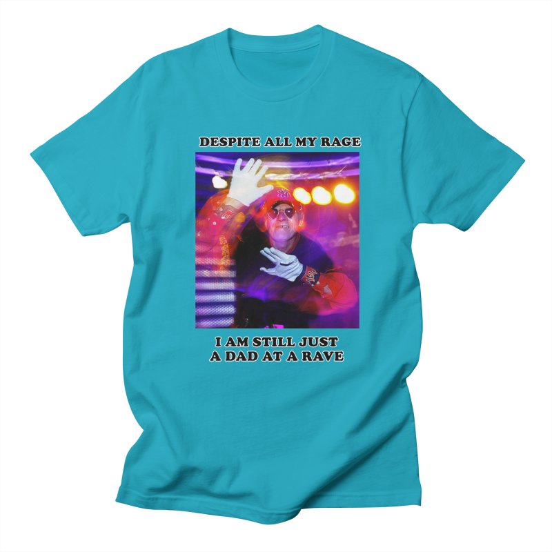 Despite All My Rage Men's Regular T-Shirt by foodstampdavis's Artist Shop
