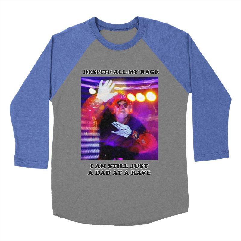Despite All My Rage Women's Baseball Triblend Longsleeve T-Shirt by foodstampdavis's Artist Shop