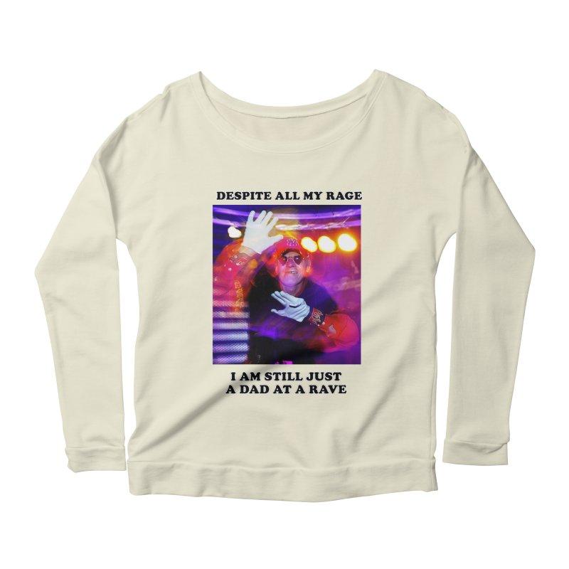 Despite All My Rage Women's Scoop Neck Longsleeve T-Shirt by foodstampdavis's Artist Shop
