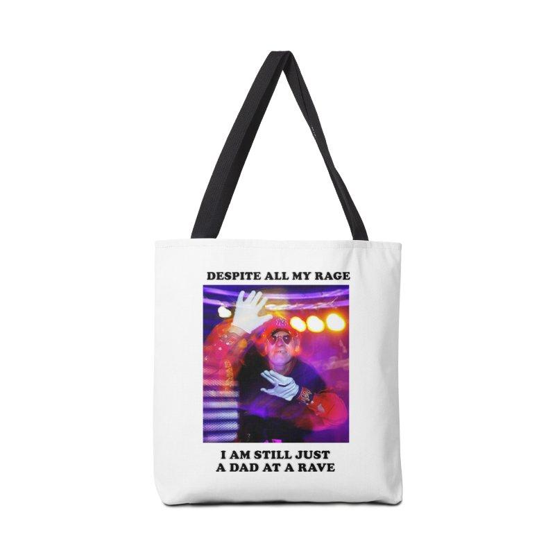 Despite All My Rage Accessories Bag by foodstampdavis's Artist Shop