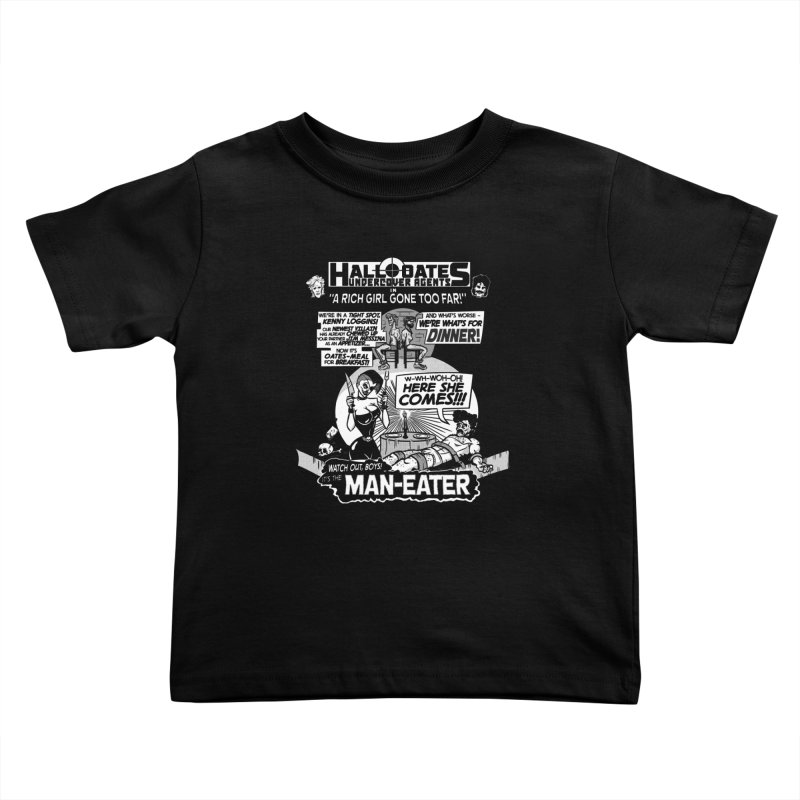 Maneater Kids Toddler T-Shirt by foodstampdavis's Artist Shop