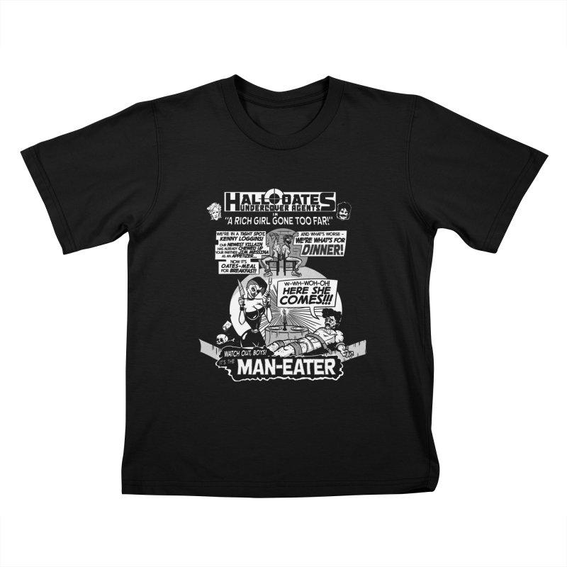 Maneater Kids T-shirt by foodstampdavis's Artist Shop