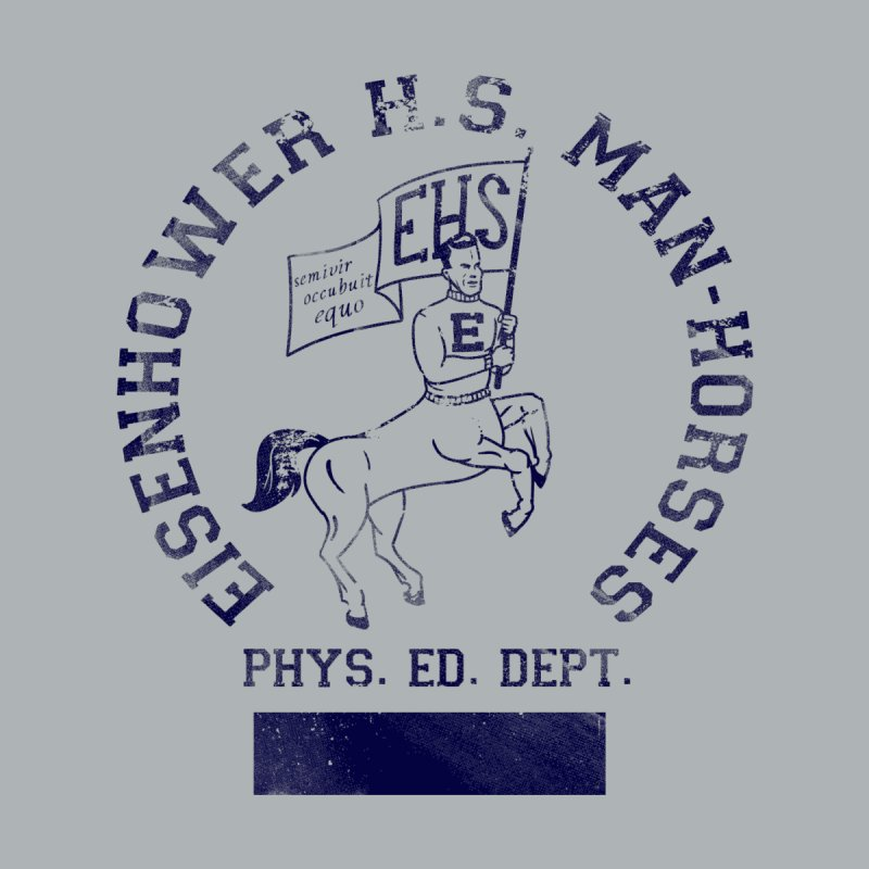 Eisenhower Manhorses Phys. Ed. Kids T-Shirt by foodstampdavis's Artist Shop