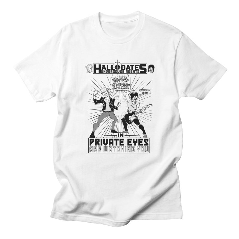 Hall and Oates - Private Eyes Men's T-Shirt by foodstampdavis's Artist Shop