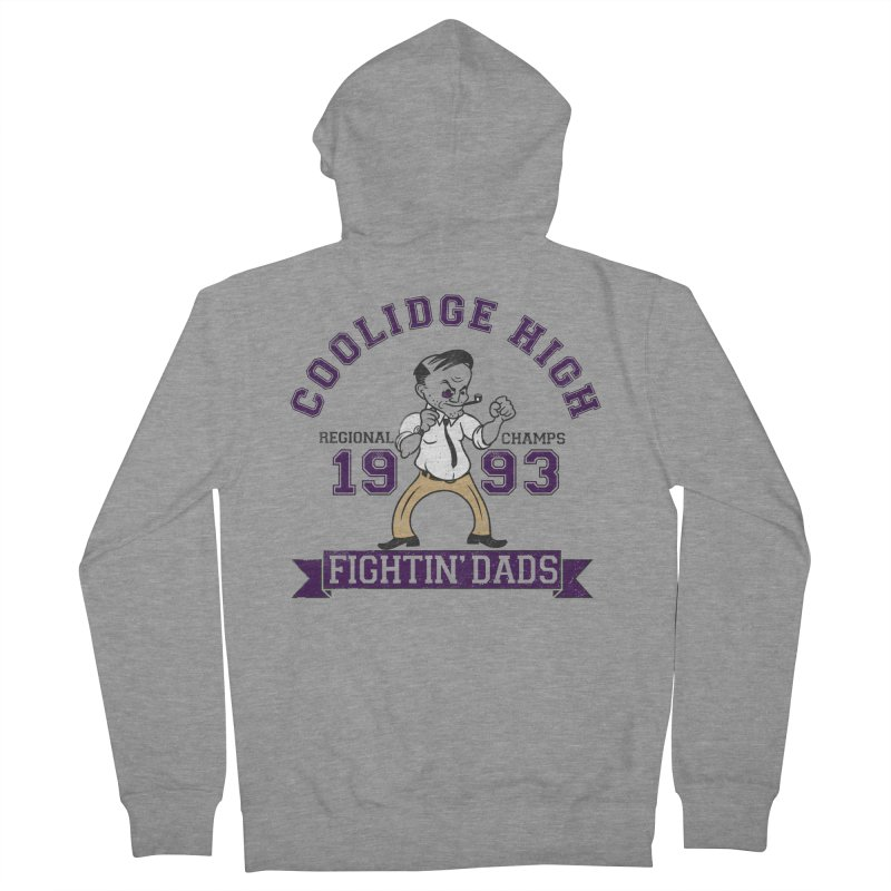 Coolidge High Fightin' Dads Women's French Terry Zip-Up Hoody by foodstampdavis's Artist Shop