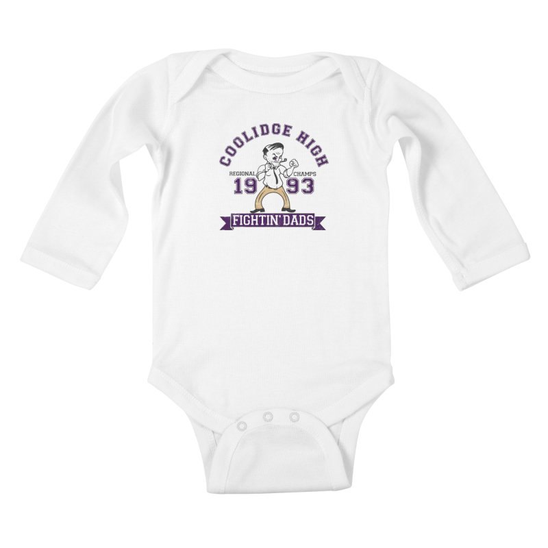 Coolidge High Fightin' Dads Kids Baby Longsleeve Bodysuit by foodstampdavis's Artist Shop
