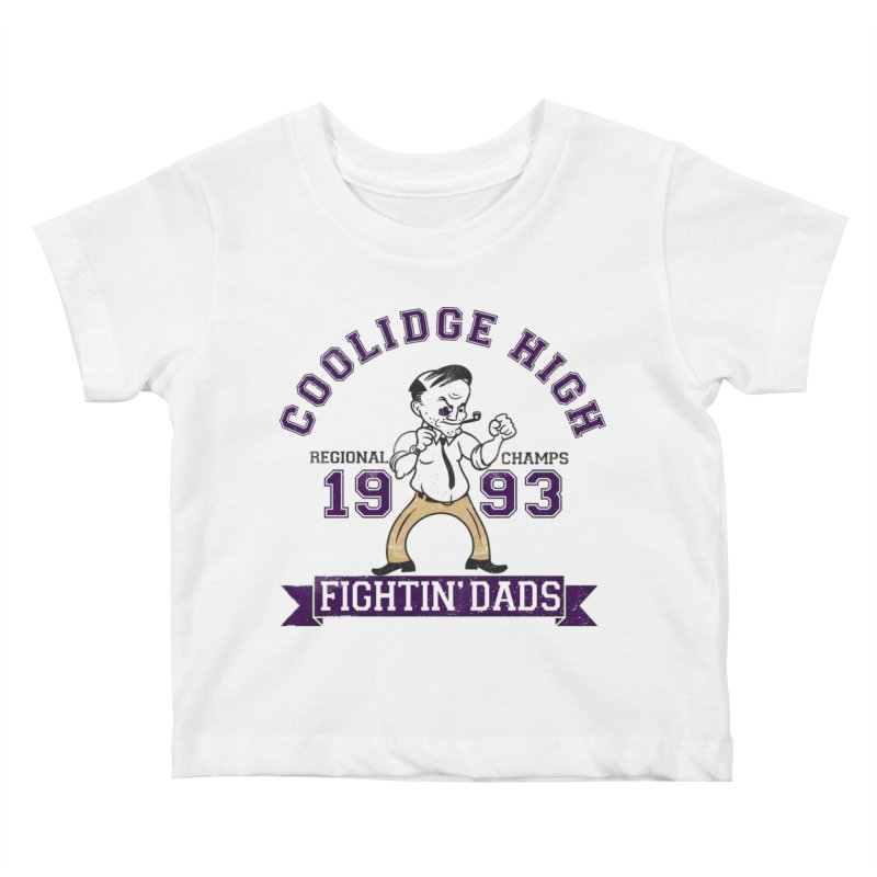 Coolidge High Fightin' Dads Kids Baby T-Shirt by foodstampdavis's Artist Shop