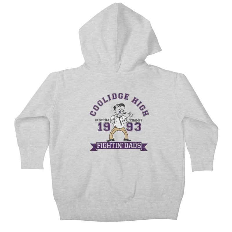 Coolidge High Fightin' Dads Kids Baby Zip-Up Hoody by foodstampdavis's Artist Shop