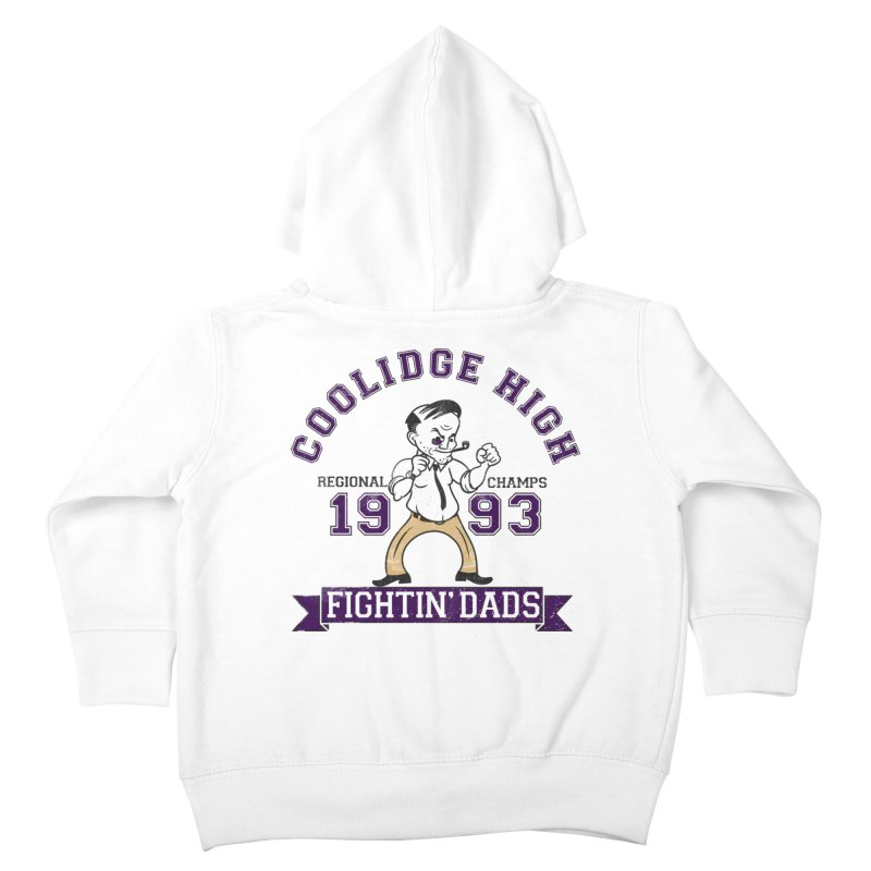 Coolidge High Fightin' Dads Kids Toddler Zip-Up Hoody by foodstampdavis's Artist Shop