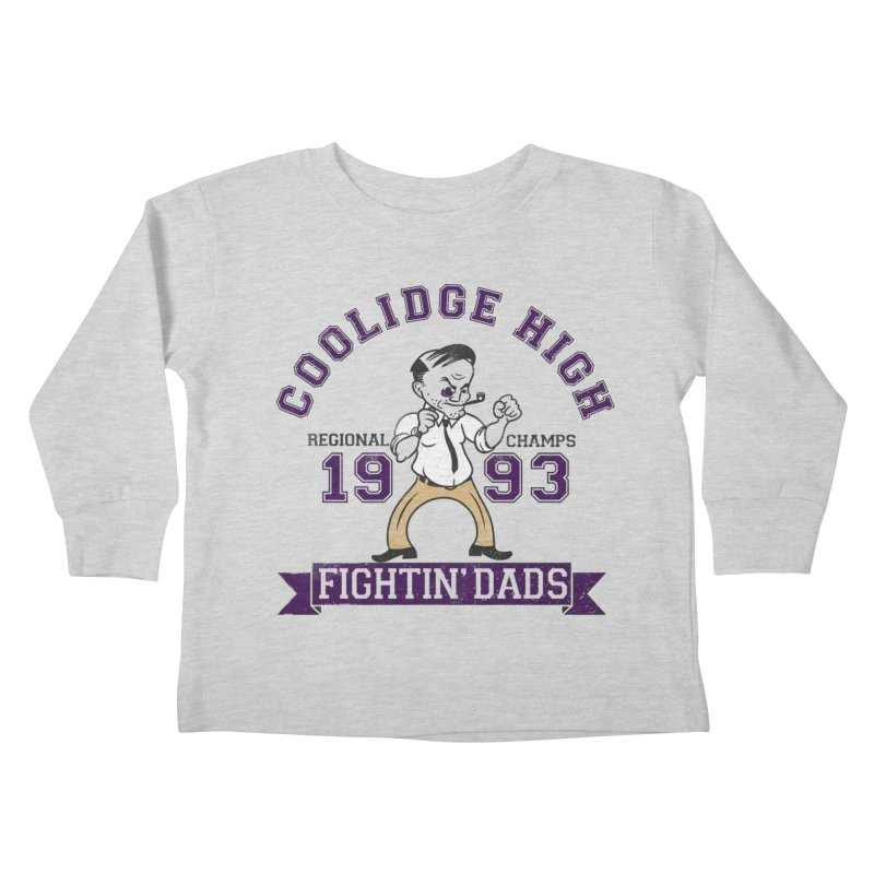 Coolidge High Fightin' Dads Kids Toddler Longsleeve T-Shirt by foodstampdavis's Artist Shop