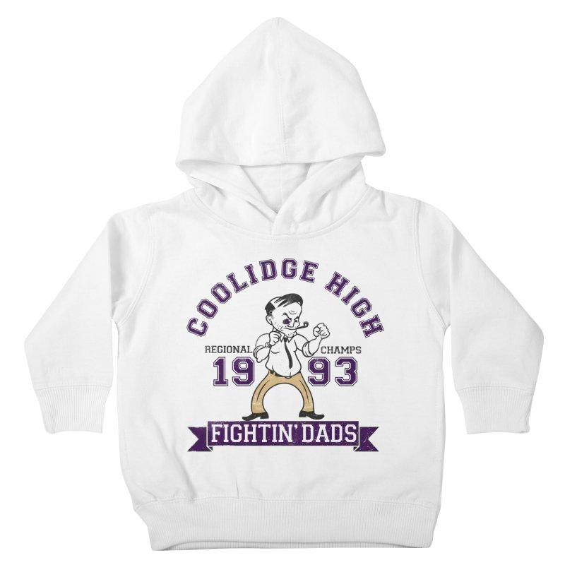 Coolidge High Fightin' Dads Kids Toddler Pullover Hoody by foodstampdavis's Artist Shop