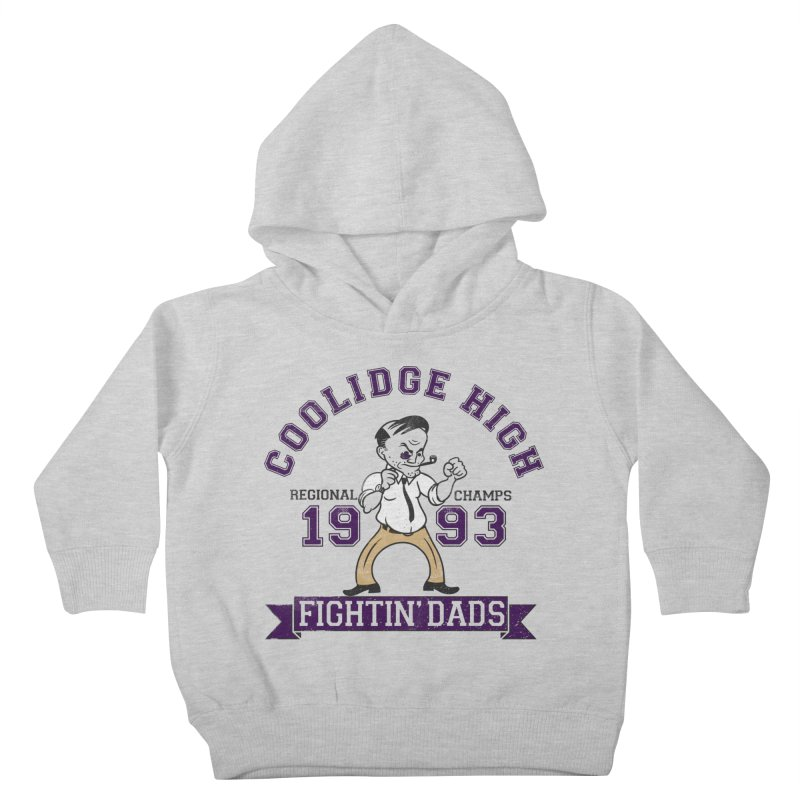 Coolidge High Fightin' Dads Kids Toddler Pullover Hoody by foodstampdavis's Artist Shop