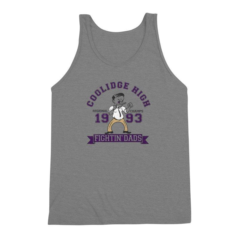 Coolidge High Fightin' Dads Men's Triblend Tank by foodstampdavis's Artist Shop