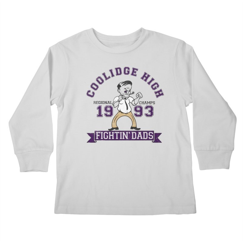 Coolidge High Fightin' Dads Kids Longsleeve T-Shirt by foodstampdavis's Artist Shop