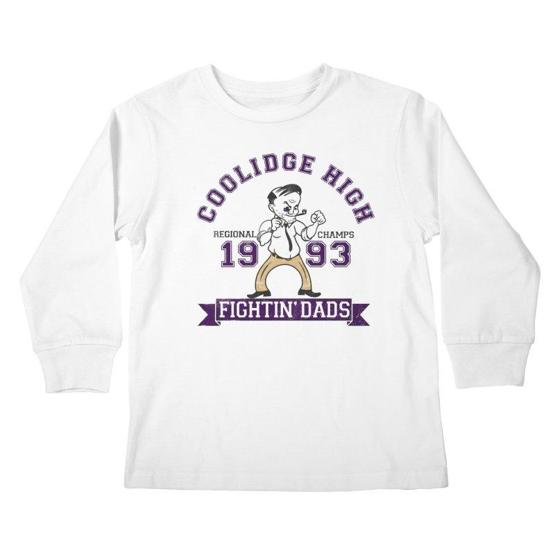 Coolidge High Fightin' Dads Kids Longsleeve T-Shirt by foodstampdavis's Artist Shop