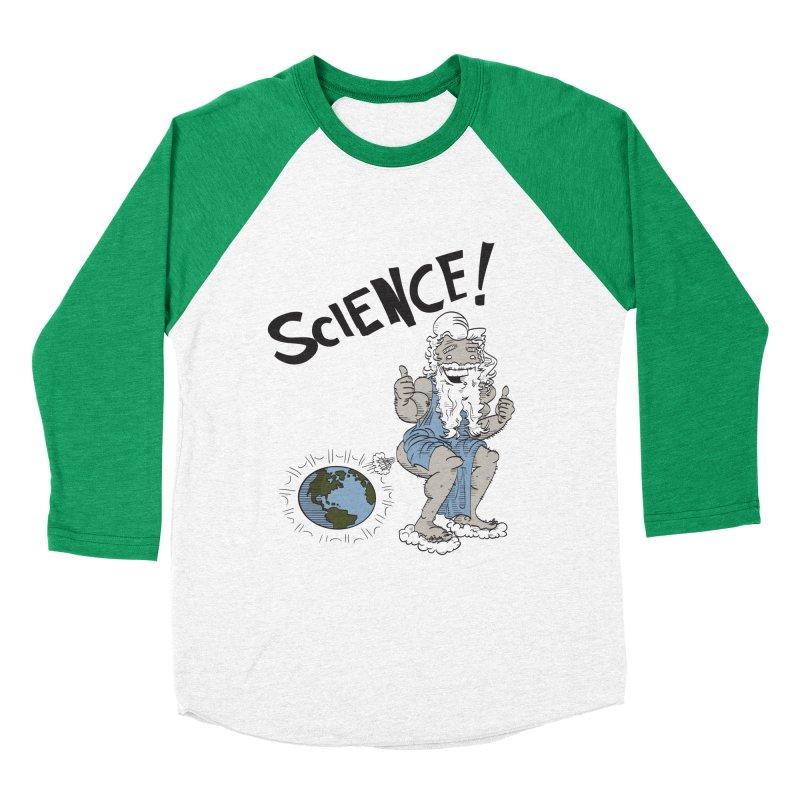 SCIENCE! Women's Baseball Triblend T-Shirt by foodstampdavis's Artist Shop