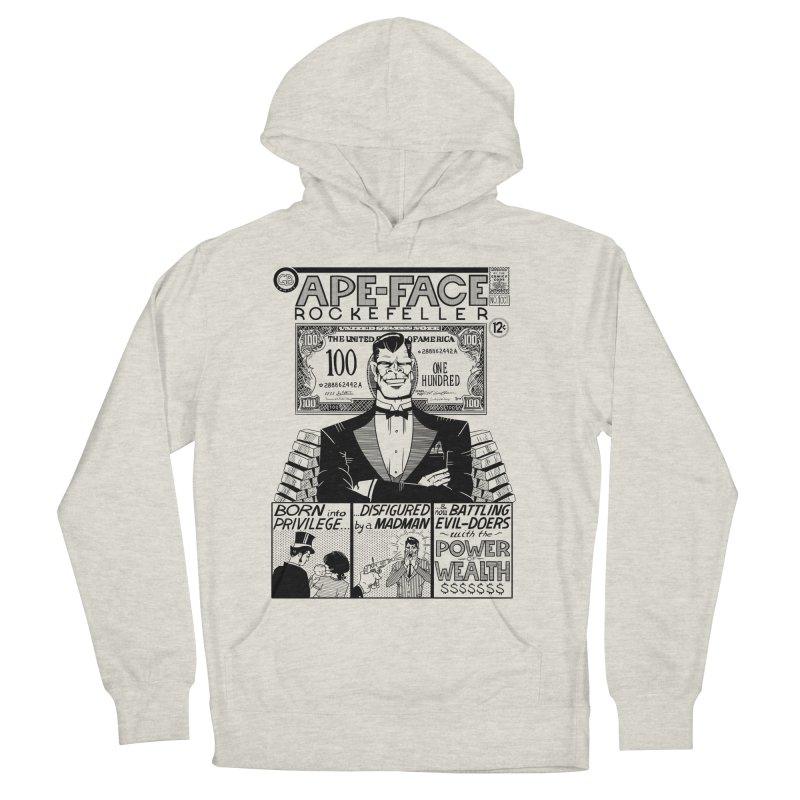 Ape-Face Rockefeller Men's Pullover Hoody by foodstampdavis's Artist Shop