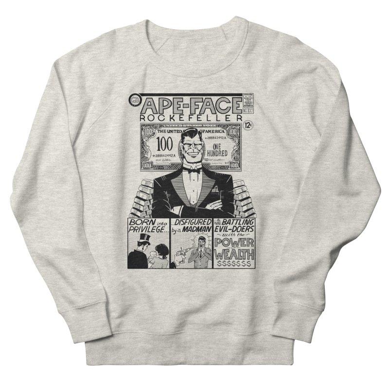 Ape-Face Rockefeller Men's Sweatshirt by foodstampdavis's Artist Shop