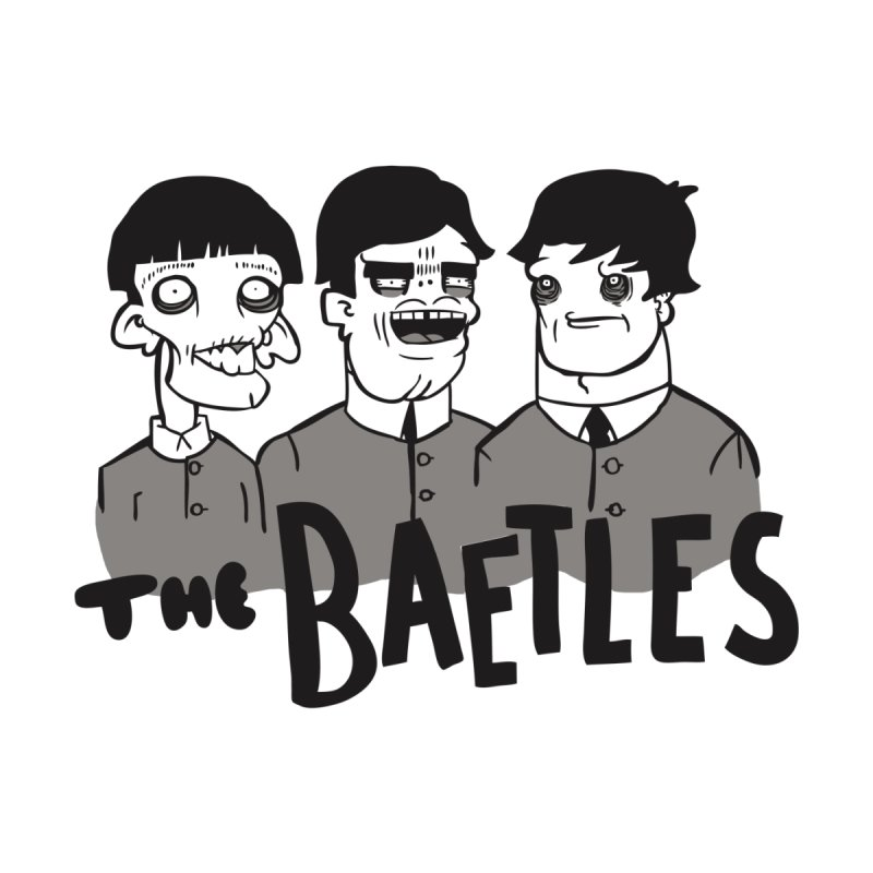 The Baetles: The Fabulous Four! Men's T-Shirt by foodstampdavis's Artist Shop