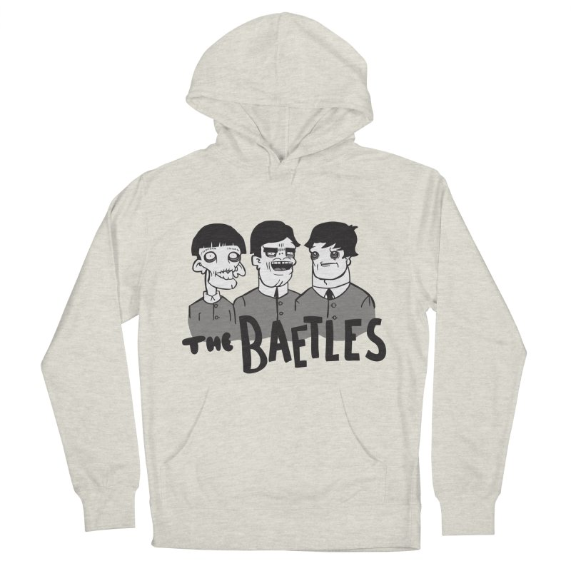 The Baetles: The Fabulous Four! Women's French Terry Pullover Hoody by foodstampdavis's Artist Shop