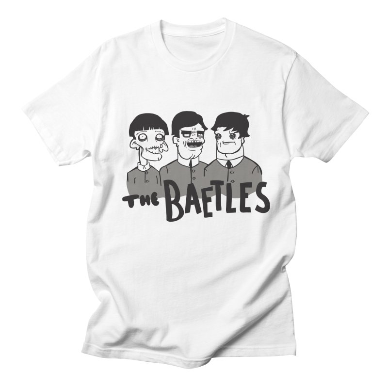 The Baetles: The Fabulous Four! Men's T-shirt by foodstampdavis's Artist Shop