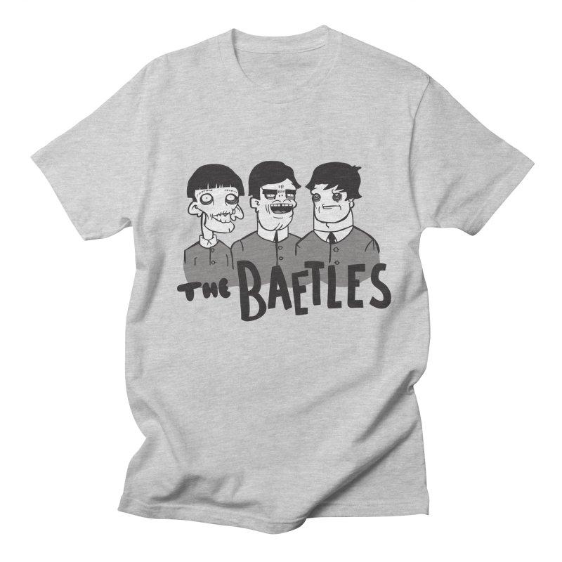 The Baetles: The Fabulous Four! Men's Regular T-Shirt by foodstampdavis's Artist Shop