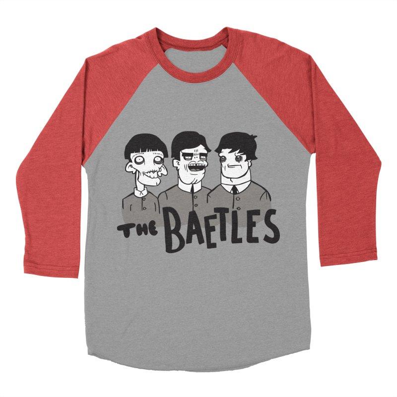 The Baetles: The Fabulous Four! Women's Baseball Triblend Longsleeve T-Shirt by foodstampdavis's Artist Shop