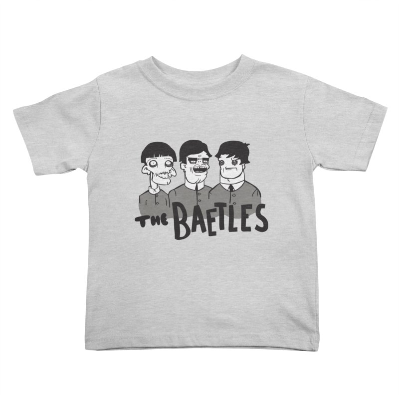 The Baetles: The Fabulous Four! Kids Toddler T-Shirt by foodstampdavis's Artist Shop